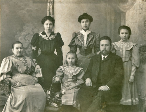 Семья Муравлевых