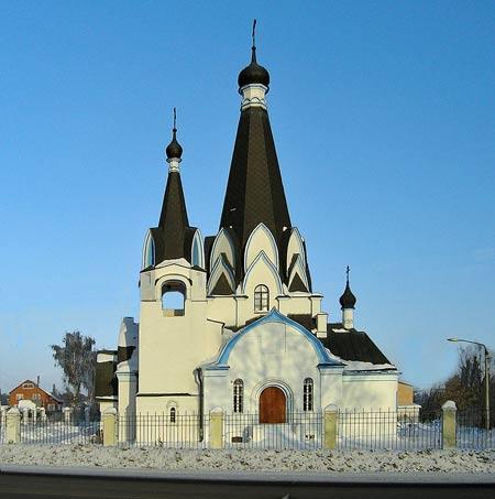 Георгиевская церковь в Ново-Харитоново