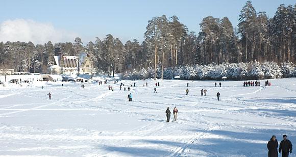 Озеро Лебяжье под Казанью