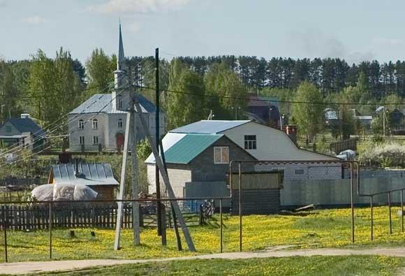 Мечеть. Кадышево. Казань