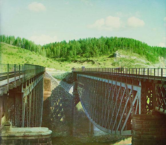 пролеты моста Белелюбского