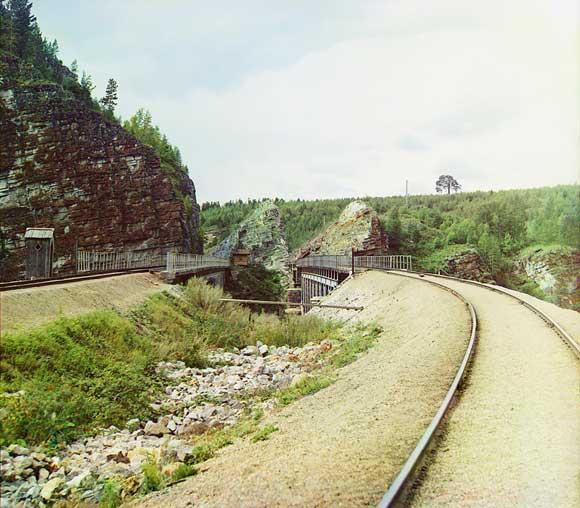 железная дорога на Усть-Катав