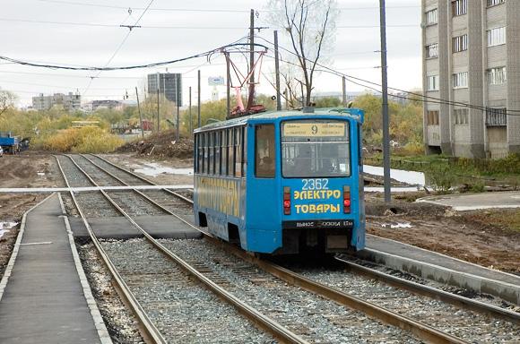 Трамвайная остановка Соловецких юнг