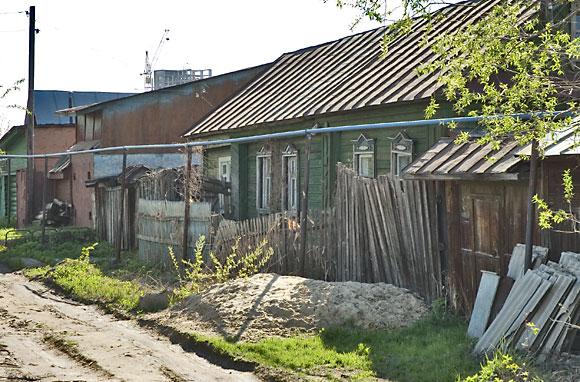 Улица Канашская. Казань