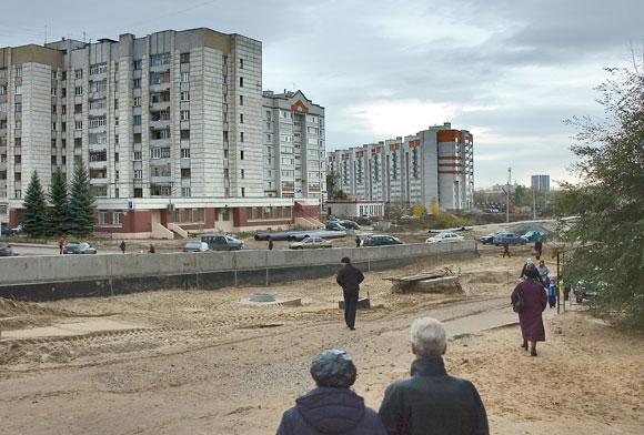 строительство на ул.Ленксой