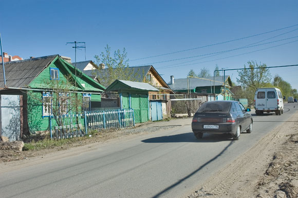 улица Малая Крыловка. Казань