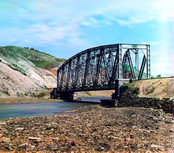 Мост на реке Катав