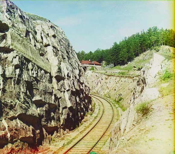 Самая большая выемка у Усть-Катава