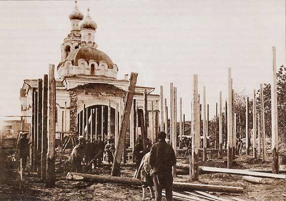 Церковь в селе Караваево. Казаеь
