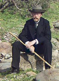 Прокудин-Горский, автопортрет