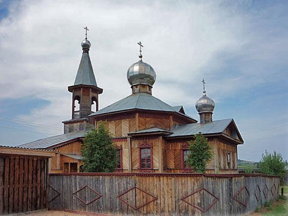 Храм во имя Рожества Иоанна предтечи в Шамарах